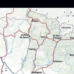 Mapa Topografic De Catalunya.Icgc Vissir3