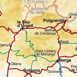 Mapa De Protecció Civil.Mapa De Proteccio Civil De Catalunya
