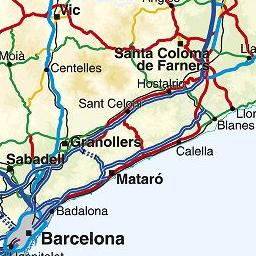 Mapa De Protecció Civil.Mapa Proteccio Civil Mapa